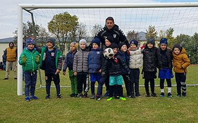 Jauniausi Širvintų sporto centro futbolininkai dalyvavo pirmajame turnyre