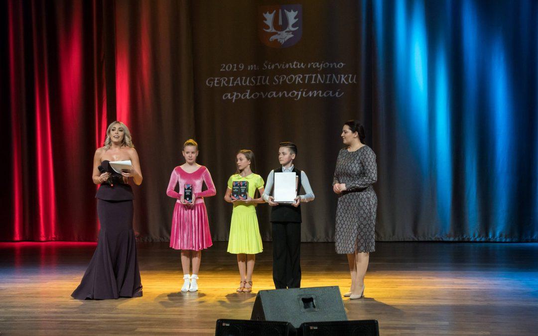 2019 metų Širvintų rajono geriausių sportininkų apdovanojimai