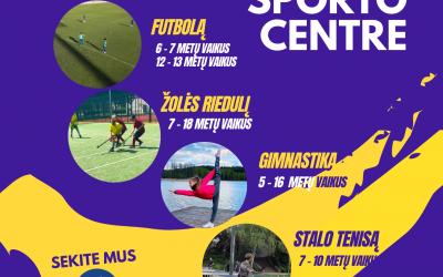 Kviečiame sportuoti Širvintų sporto centre