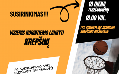 Prie Širvintų sporto centro komandos prisijungė krepšinio mokytojas Martynas Kriaučiūnas
